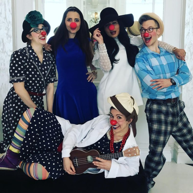 Comedy, Clowning, And Couture